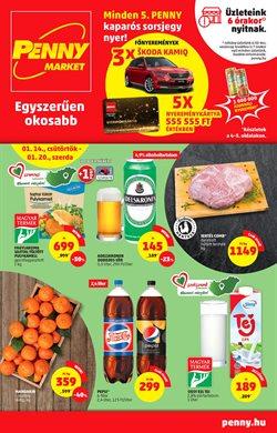 Hiper-Szupermarketek kínálatok Penny Market katalógusában, Győr ( 3 nappal ezelőtt )