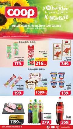 Hiper-Szupermarketek kínálat Coop katalógusában, ( 6 nap)