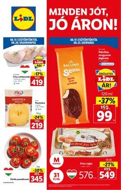 Hiper-Szupermarketek kínálat Lidl katalógusában, ( Holnap lejár)