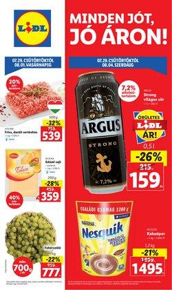 Hiper-Szupermarketek kínálat Lidl katalógusában, ( Közzétéve ma)