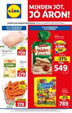 Hiper-Szupermarketek kínálat Lidl katalógusában, ( hamarosan lejár)