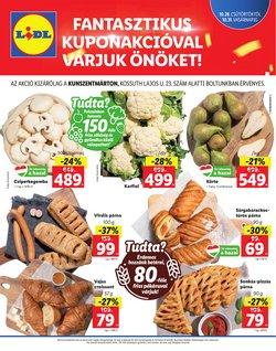 Hiper-Szupermarketek kínálat Lidl katalógusában, ( Most közzé téve)