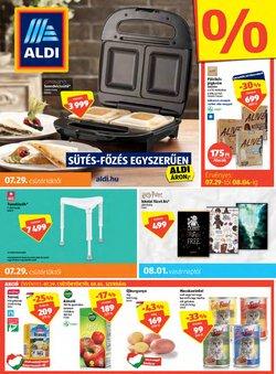 Hiper-Szupermarketek kínálat Aldi katalógusában, ( 5 nap)