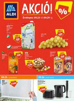Hiper-Szupermarketek kínálat Aldi katalógusában, ( 4 nap)