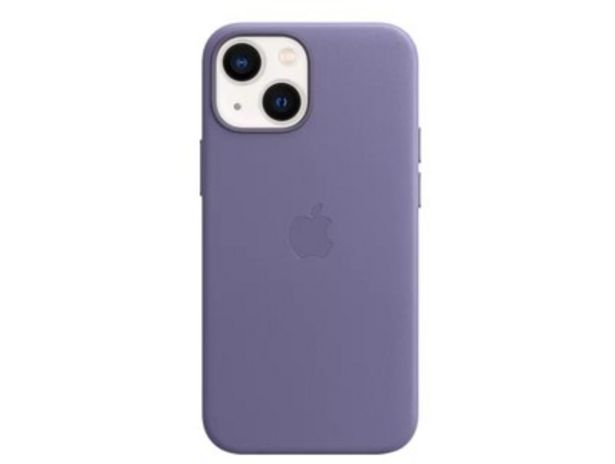 Apple iPhone 13 mini MagSafe rögzítésű bőr tok, Akáclila (MM0H3ZM/A) kínálat, 23989 Ft