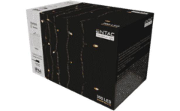 ENTAC Karácsonyi függöny IP44 300 LED, 3x3m 8F (ECCL-300WW) kínálat, 5799 Ft