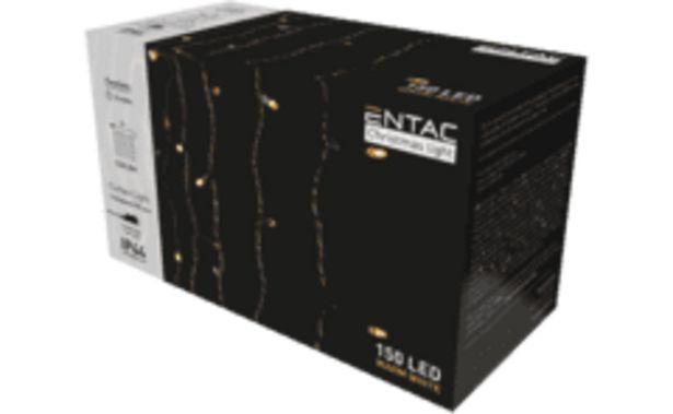 ENTAC Karácsonyi függöny IP44 150 LED, 1.5x1.5m 8F (ECCL-150WW) kínálat, 3499 Ft