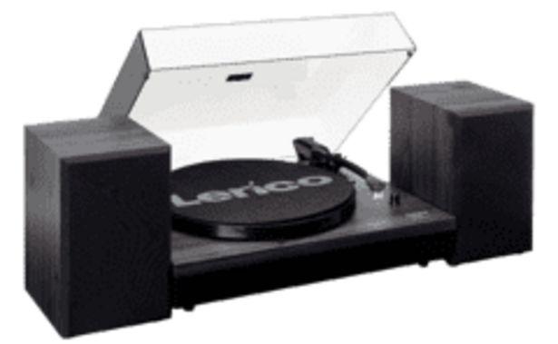 LENCO Outlet LS-300 lemezjátszó, fekete kínálat, 50999 Ft