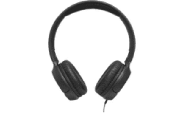 JBL Outlet T500 fejhallgató, fekete kínálat, 8499 Ft