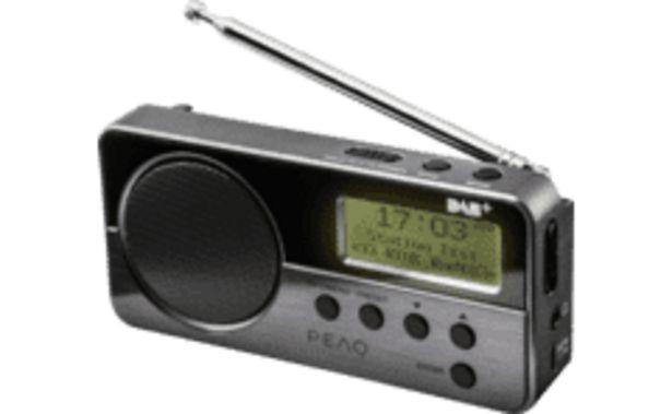 PEAQ Outlet PDR 050 B-1 hordozható rádió kínálat, 8679 Ft