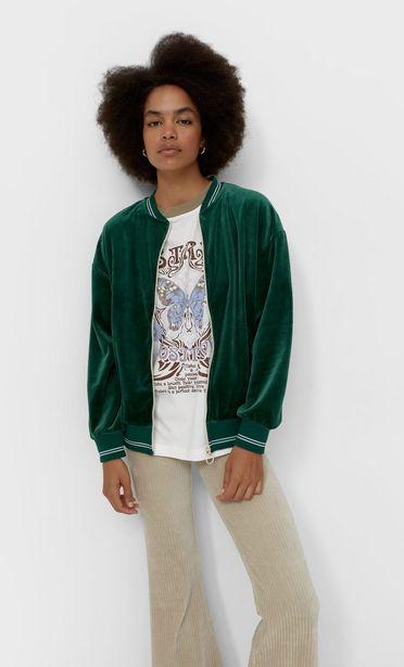 Velvet bomber jacket kínálat, 9995 Ft