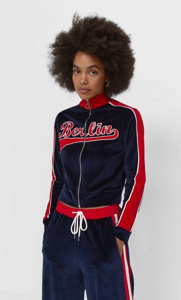 Velvet sweatshirt with zip kínálat, 8995 Ft
