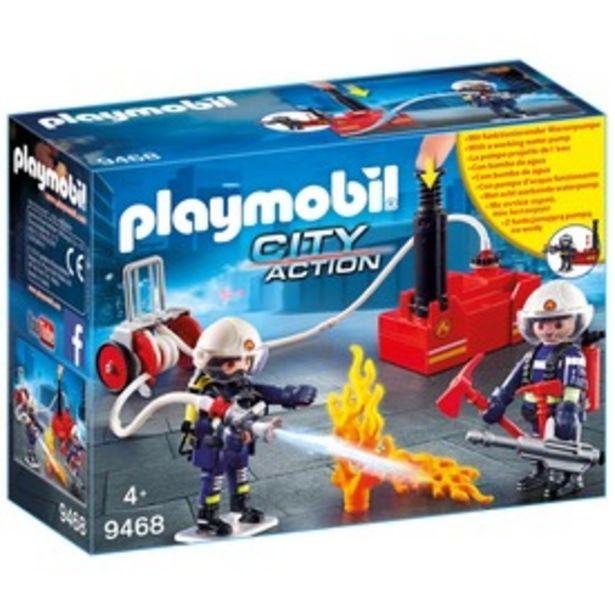 Playmobil tűzoltók vízpumpával 9468 kínálat, 8495 Ft