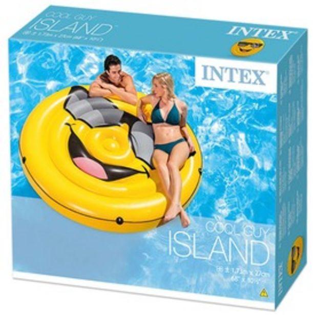 Intex 57254 Smiley sziget matrac - 173 x 27 cm kínálat, 8995 Ft