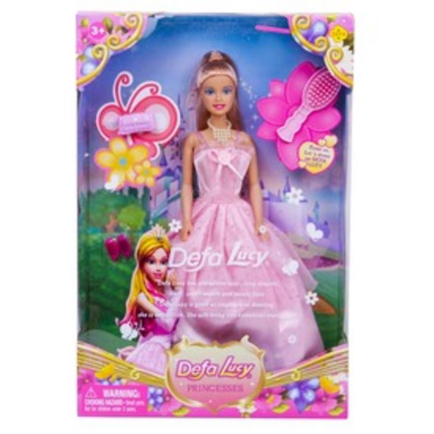 Defa Lucy hercegnő baba kiegészítőkkel - 30 cm kínálat, 3995 Ft