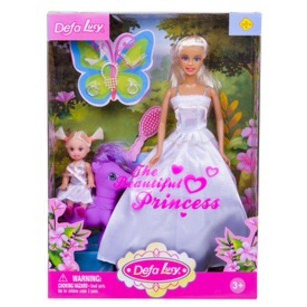 Defa Lucy hercegnő baba kislánnyal és pónival - többféle kínálat, 5995 Ft