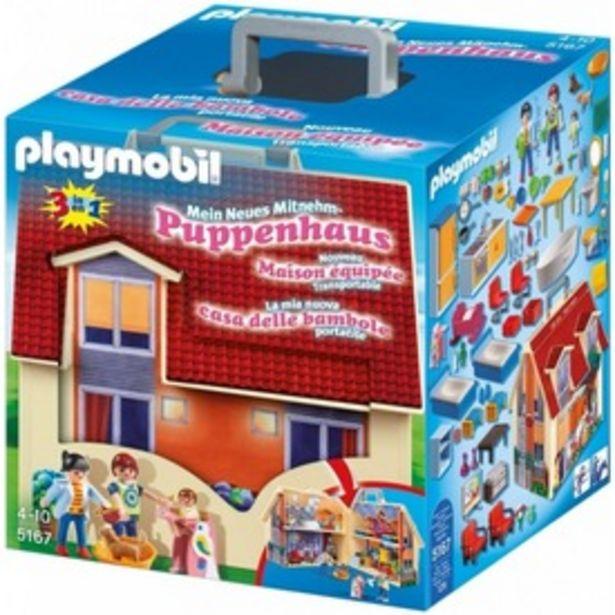 Playmobil Hordozható családi ház 5167 kínálat, 13995 Ft