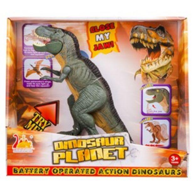 Sétáló dinó - világít, hangot ad kínálat, 5995 Ft