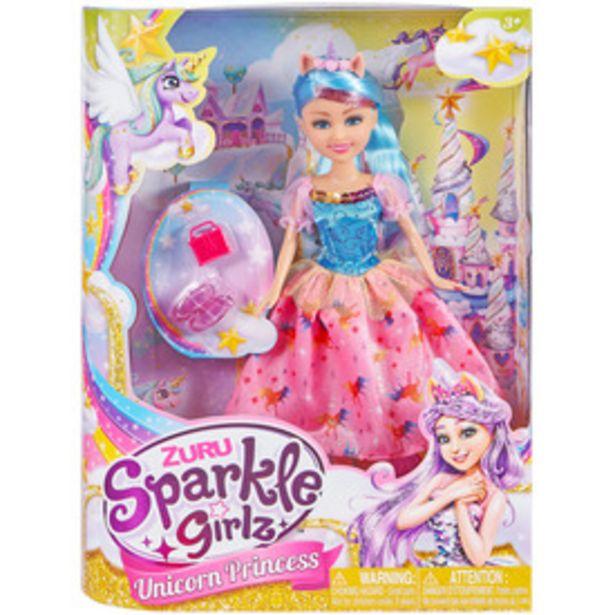 Sparkle girlz - Unikornis hercegnő baba, 30 cm - többféle kínálat, 4995 Ft