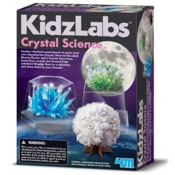 4M kristály növesztő tudományos készlet kínálat, 3495 Ft