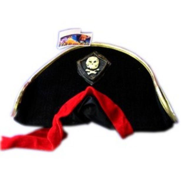 Kalóz kalap piros kendővel kínálat, 2495 Ft