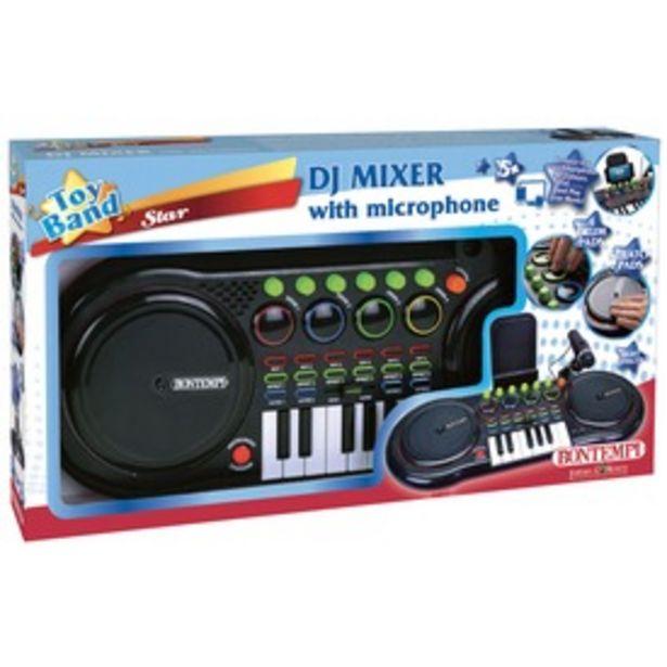 DJ keverőpult mikrofonnal kínálat, 23995 Ft