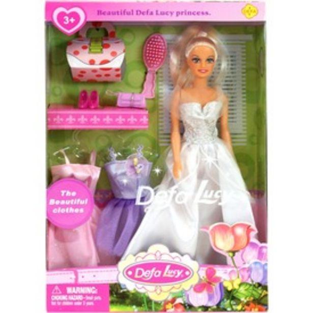 Defa Lucy hercegnő baba három ruhával - 30 cm, többféle kínálat, 4495 Ft